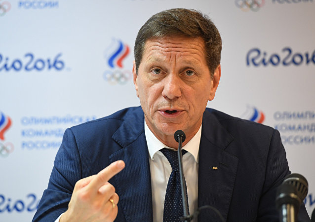 俄奧委會主席亞歷山大·茹科夫