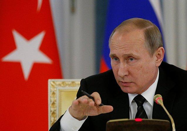 普京:俄罗斯有意全面恢复与土耳其的双边关系
