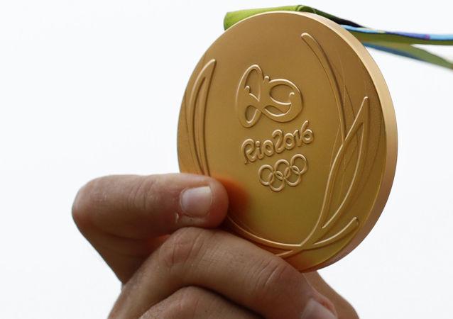 里約熱內盧奧運會金牌