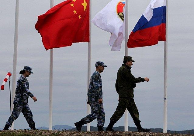 中俄海軍聯合演習