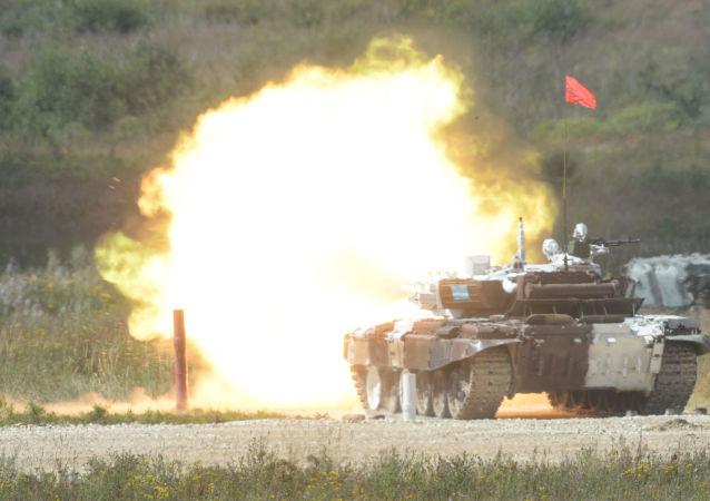 俄罗斯领先国际军事比赛初步奖牌榜 中国暂居第三