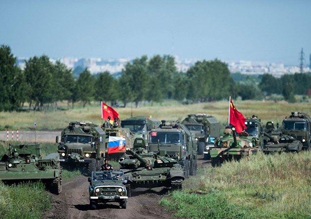 俄国防部:国际军事比赛各项竞赛今年将在8个新靶场进行