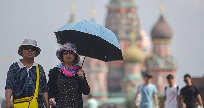 2017年有500万人次外国游客到访俄首都