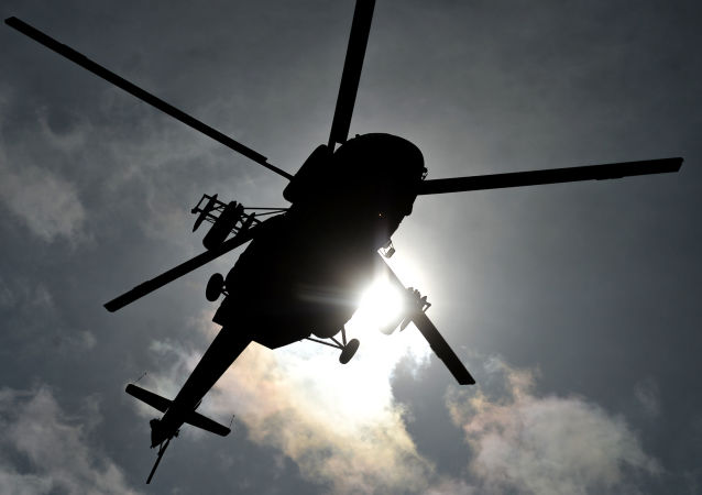 波罗的海发现俄失事卡-29直升机机身