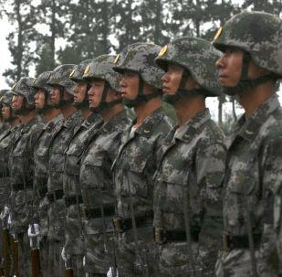 中國將軍呼籲用武力解決台灣問題