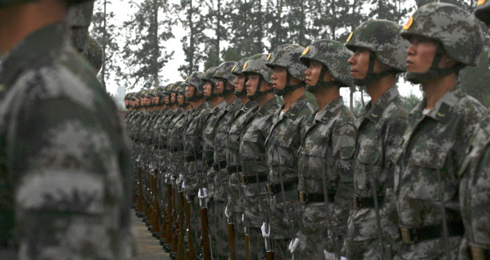 中國軍隊(資料圖片)