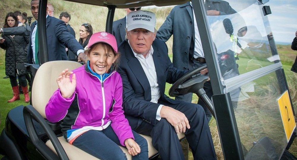 特朗普或为打高尔夫而延长对英访问