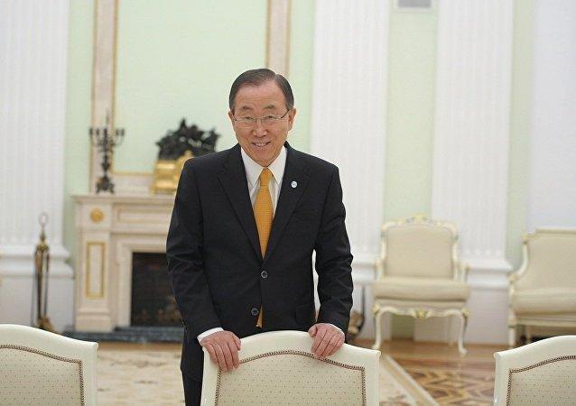 前任联合国秘书长潘基文