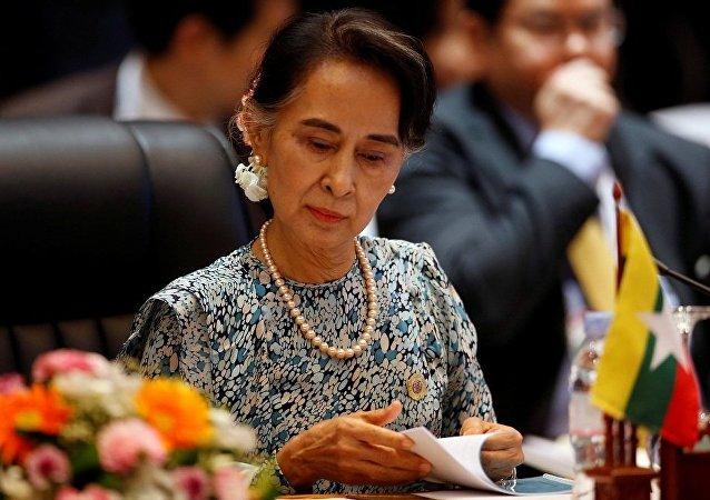 俄專家:昂山素季的訪問將幫助中國在緬甸落實經濟項目