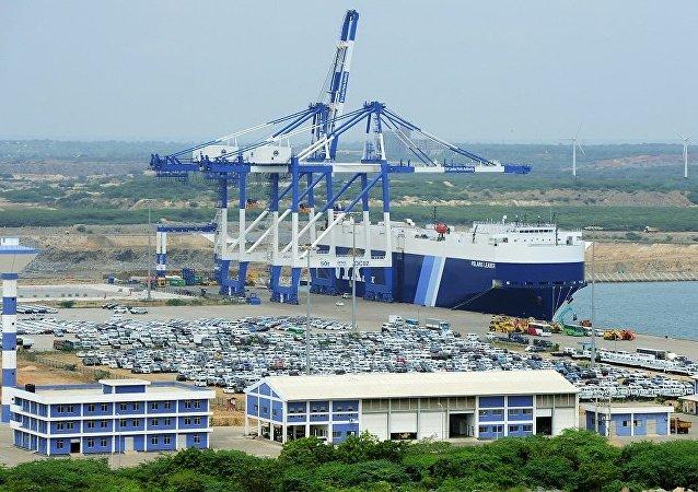 斯里兰卡汉班托塔港