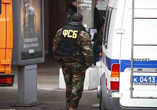 """俄联邦安全局在圣彼得堡抓获企图实施恐袭的""""伊斯兰国""""支持者"""