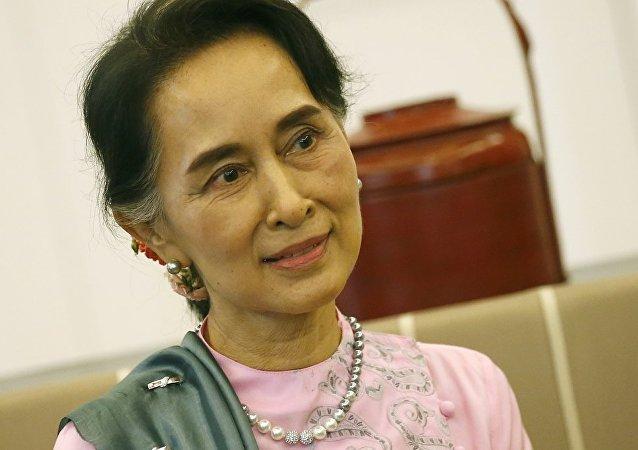 民調:昂山素季受94%緬甸民眾的支持