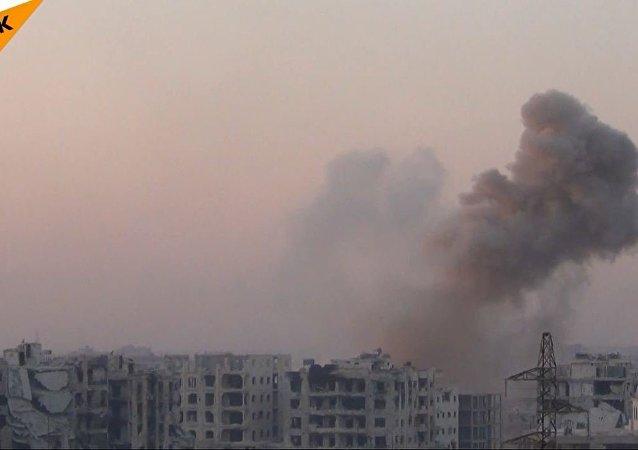 敘利亞阿勒頗西南部發生激戰 (視頻)