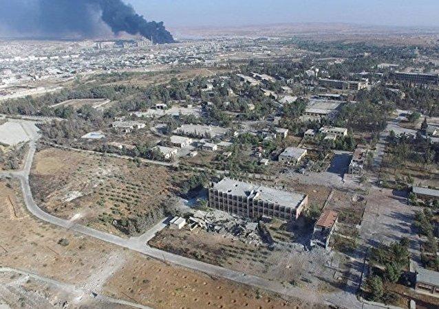 俄外交部稱俄敘10月18日起就沒有對阿勒頗東部實施空襲