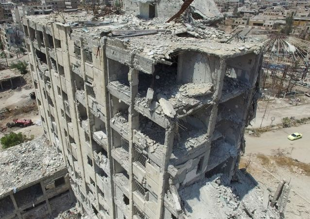 """消息人士:""""征服阵线"""" 一名负责招募的头目在阿勒颇被消灭"""