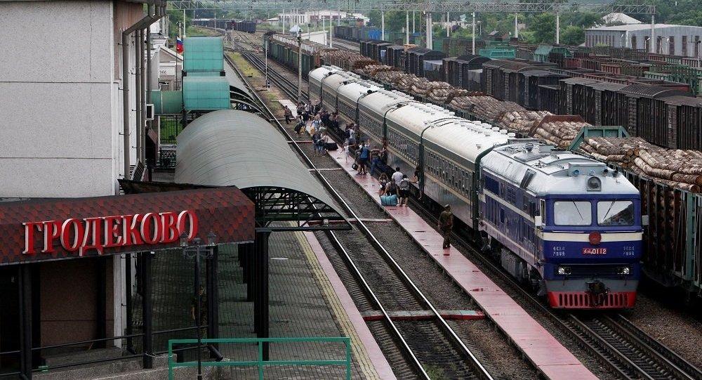 俄中跨境内贸外运航线航线今日开通