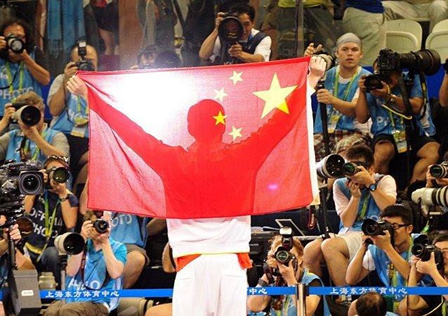 中國奧運代表團在第13個比賽日共收穫1枚金牌