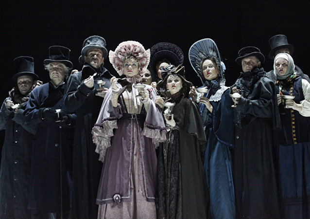瓦赫坦戈夫劇院將在北京上演《假面舞會》話劇