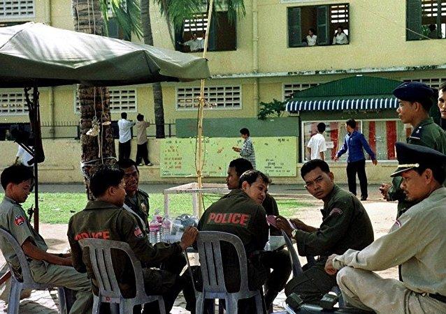 柬埔寨警方