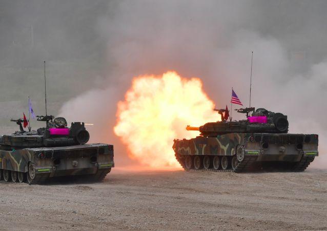專家:「乙支自由衛士」聯合軍演是美國控制其盟友的手段