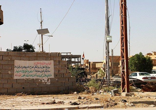 剛被解放的伊拉克拉馬迪已變成一座空城
