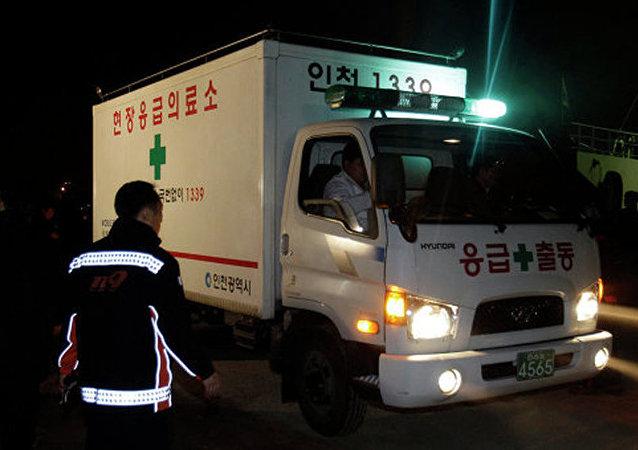 韓國救護車(資料圖片)