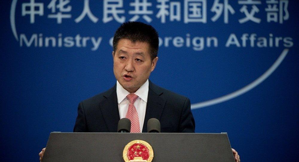 中國外交部:中方敦促美方不要在兩岸關係問題上干涉中國內政