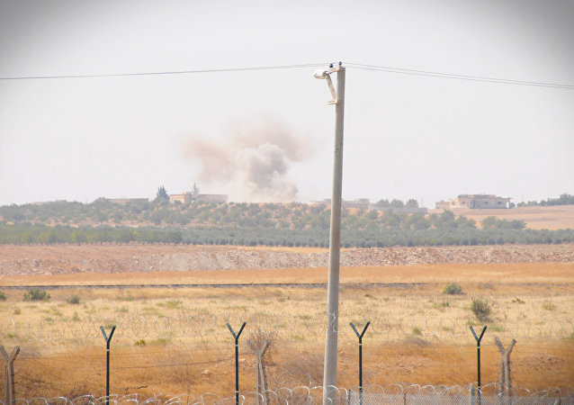 土耳其军队在叙利亚北部发动军事行动