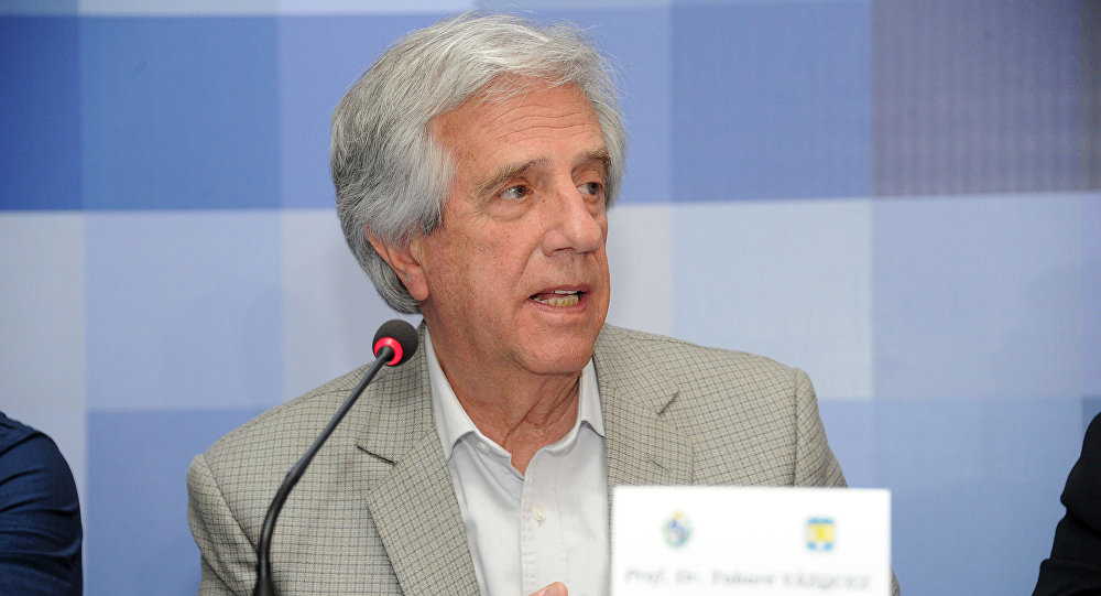 乌拉圭总统塔瓦雷•巴斯克斯