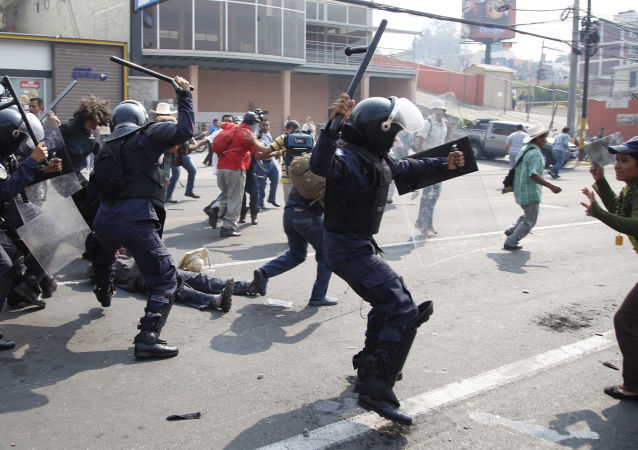 洪都拉斯反对派要求取消总统选举结果