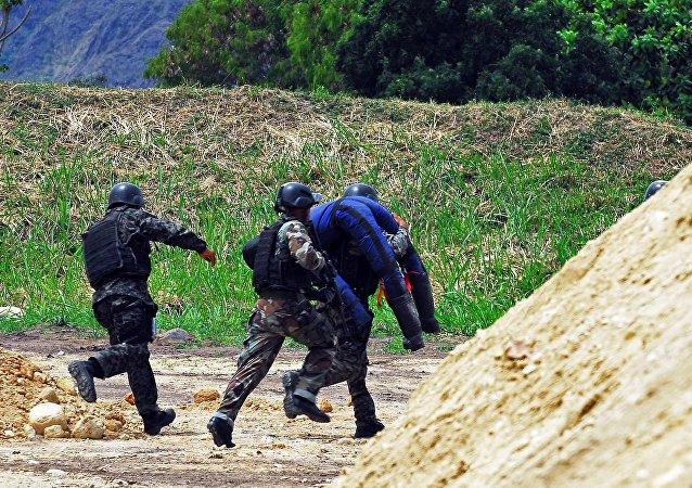 洪都拉斯的特種兵