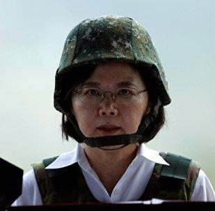 台灣地區新領導人蔡英文
