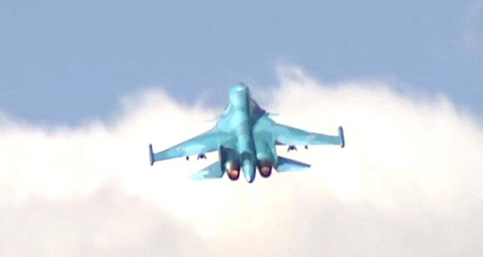 一名消息人士称,俄远东地区一架苏-34从雷达上消失
