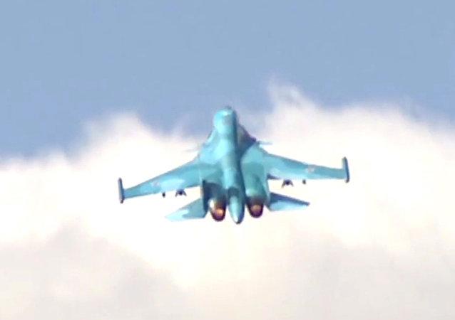 一名消息人士稱,俄遠東地區一架蘇-34從雷達上消失
