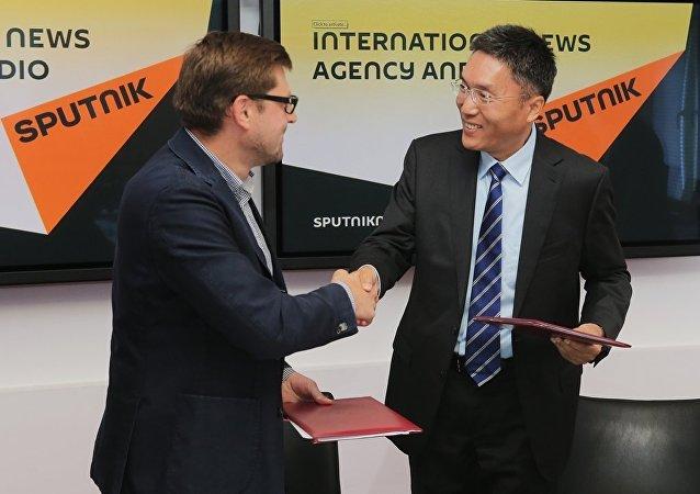 俄羅斯衛星網開始中國最大科學出版社的合作