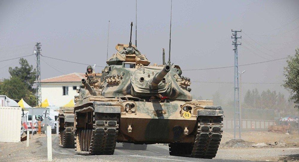 土耳其正在与伊拉克接壤地区部署坦克