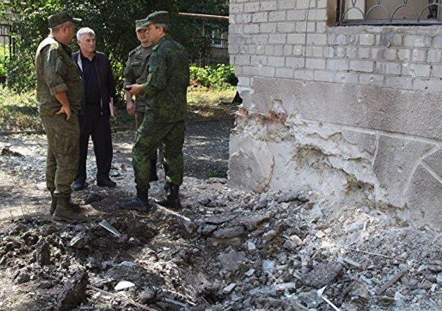 俄外长:明斯克协议中不包含向顿巴斯派遣维和人员条款