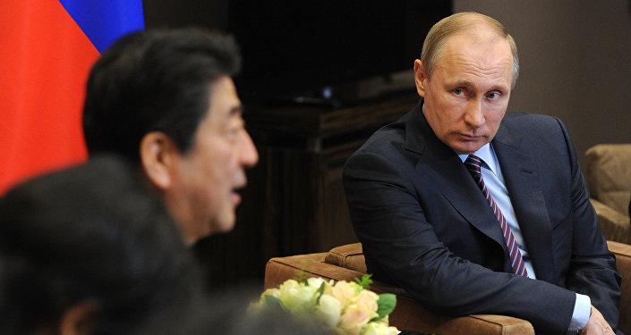 克宮:普京與安倍可能在會晤上討論南千島群島問題