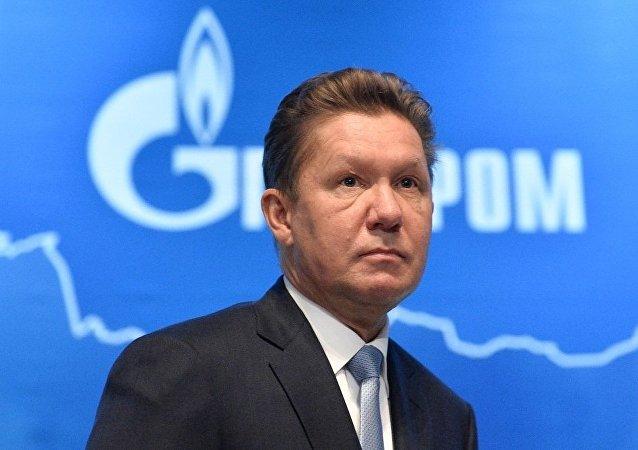 俄氣公司總裁阿列克謝•米勒