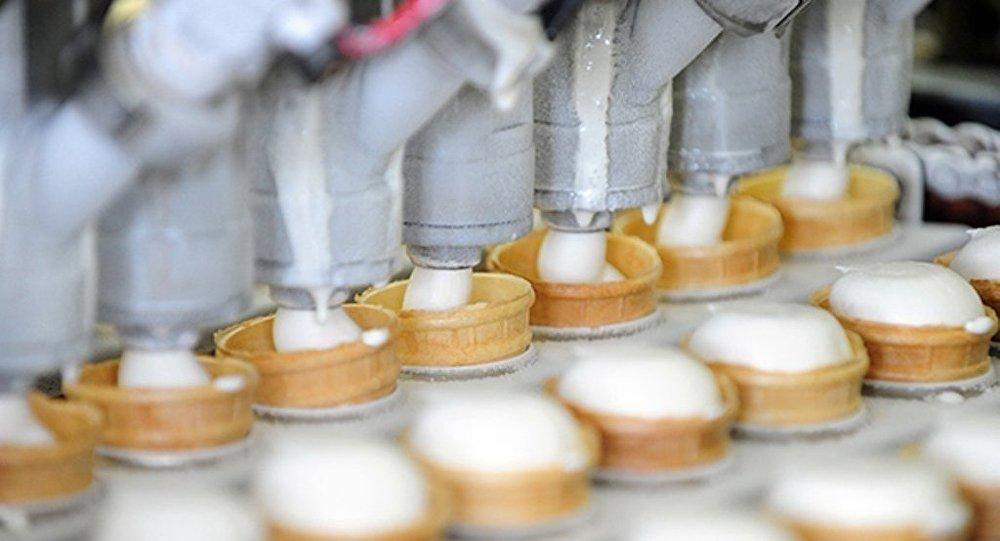俄罗斯冰激凌将在中国陕西生产