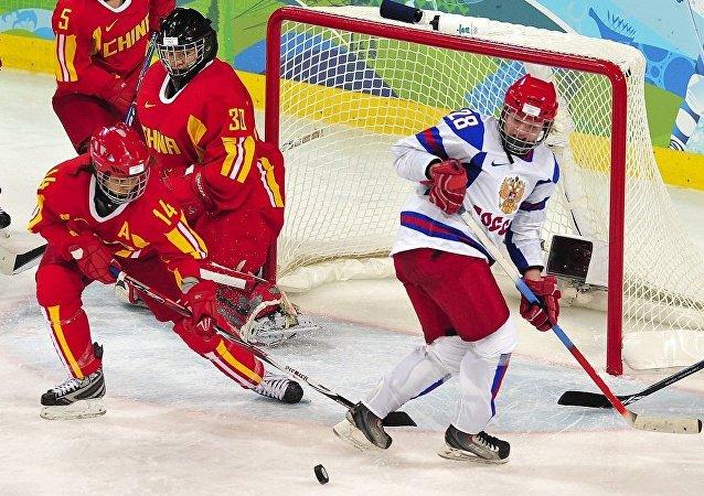 俄中冰球赛将于1月14日举行
