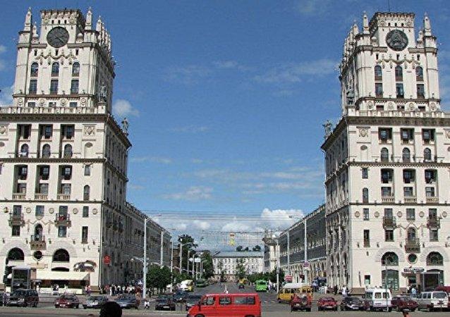 白俄羅斯首都明斯克