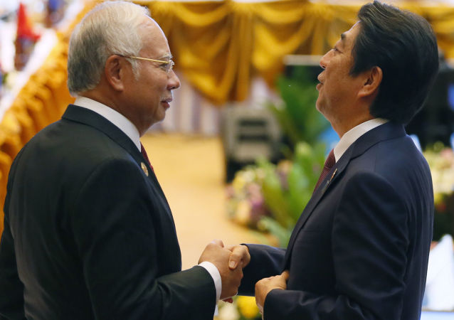 安倍晉三擔憂中國的南海政策