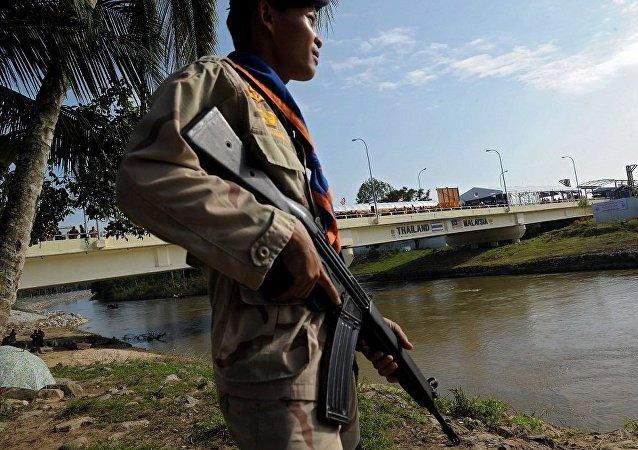 泰馬兩國擬建邊境牆打擊武器走私和偷渡