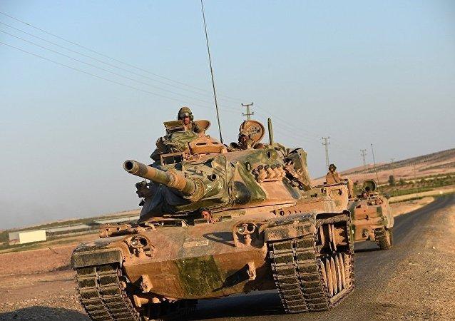 土耳其軍隊在敘利亞