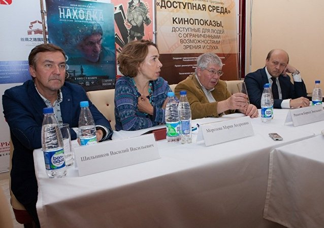 在中國舉辦了「俄羅斯電影藝術成就」展