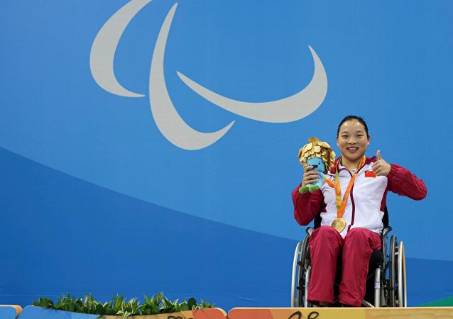 中國殘奧代表團2016里約殘奧會3日獲得26金