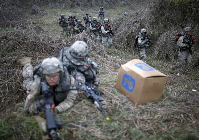 韓國漢弗萊營已成為美軍在海外最大的軍事基地