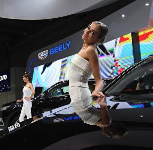 中国吉利公司将在俄开设6家新经销商中心