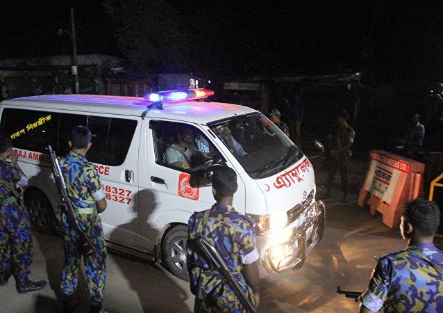 孟加拉国救护车(资料图片)